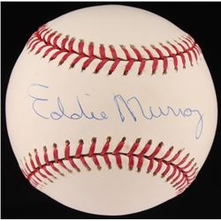Eddie Murray Signed OML Baseball (Fanatics Hologram)