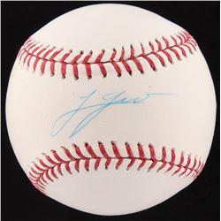 Lucas Giolito Signed OML Baseball (Fanatics  MLB Hologram)