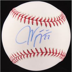 Jason Kipnis Signed OML Baseball (Fanatics  MLB Hologram)