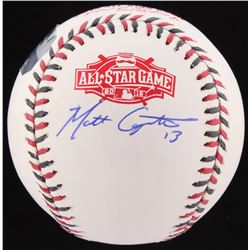 Matt Carpenter Signed Official 2015 All-Star Game Baseball (MLB Authentication Hologram  Fanatics Ho