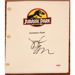 "Jeff Goldblum Signed ""Jurrassic Park"" Full Movie Script (PSA COA)"