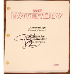 "Adam Sandler Signed ""The Waterboy"" Full Movie Script (PSA COA)"