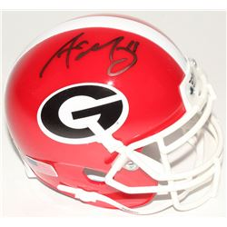 Aaron Murray Signed Georgia Bulldogs Mini-Helmet (Radtke COA)