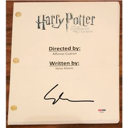 "Gary Oldman Signed ""Harry Potter  The Prisoner of Azkaban"" Full Movie Script (PSA COA)"