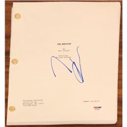 "Mickey Rourke Signed ""The Wrestler"" Full Movie Script (PSA COA)"