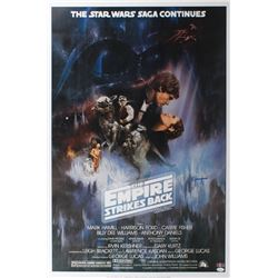 "Jeremy Bulloch Signed ""Star Wars: The Empire Strikes Back"" 24x36 Movie Poster (JSA COA)"