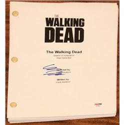 "Chandler Riggs Signed ""The Walking Dead"" Full Episode Script (PSA COA)"