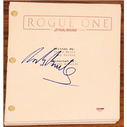 "Mads Mikkelsen Signed ""Star Wars: Rogue One"" Full Movie Script (PSA COA)"