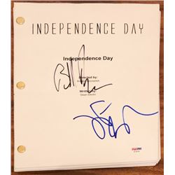"Jeff Goldblum  Bill Pullman Signed ""Independance Day"" Full Movie Script (PSA COA)"