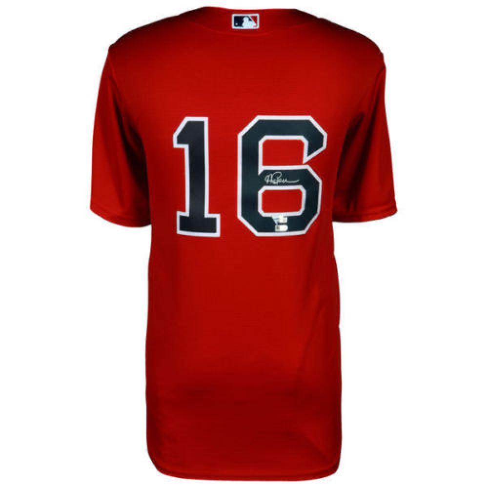 the best attitude d1813 a3cbe Andrew Benintendi Signed Red Sox Jersey (Fanatics MLB ...