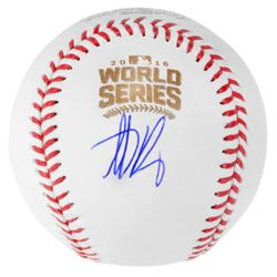 Anthony Rizzo Signed 2016 World Series Logo Baseball (Fanatics  MLB Hologram)