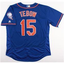 Tim Tebow Signed Mets Jersey (JSA COA)