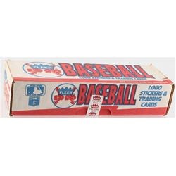 1990 Fleer Complete Hobby Set of (672) Baseball Cards  (45) Stickers