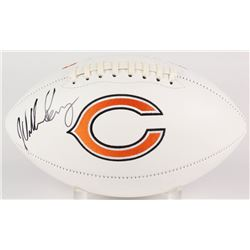 William Perry Signed Bears Logo Football (JSA COA)