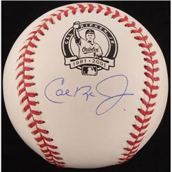 Cal Ripken Jr. Signed OML Commemorative Baseball (PSA COA - Autograph Graded 10)