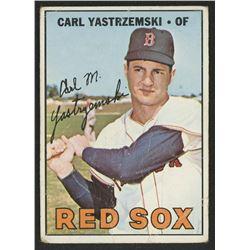 1967 Topps #355 Carl Yastrzemski