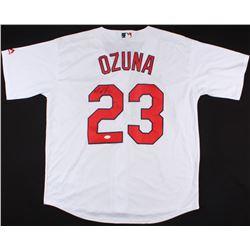 Marcell Ozuna Signed Cardinals Jersey (JSA COA)