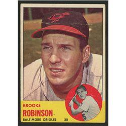 1963 Topps #345 Brooks Robinson