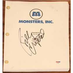 "Billy Crystal Signed ""Monsters, Inc."" Full Movie Script (PSA COA)"