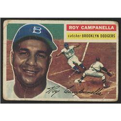 1956 Topps #101A Roy Campanella WB