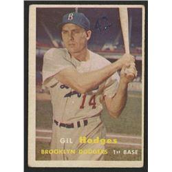 1957 Topps #80 Gil Hodges