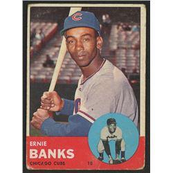 1963 Topps #380 Ernie Banks