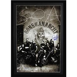 Ryan Hurst Signed  Sons of Anarchy  42x49 Custom Framed Poster Display Inscribed  Opie  (Radtke COA)