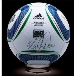 Landon Donovan Signed Soccer Ball (UDA COA)