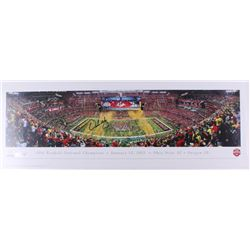 Urban Meyer Signed 2014 Football National Champions 13.5x39 Panoramic Photo (Fanatics Hologram  Meye