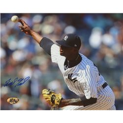 Domingo German Signed Yankees 8x10 Photo (MAB Hologram)