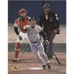 Jim Leyritz Signed Yankees 8x10 Photo (MAB Hologram)