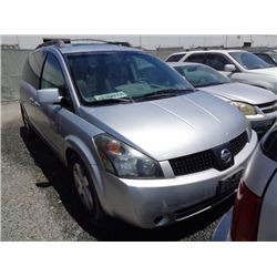 NISSAN QUEST 2005 T-DONATION