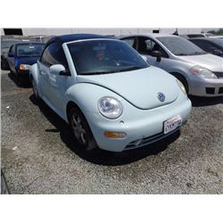 VW NEW BEETLE 2004 T-DONATION