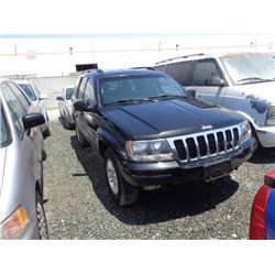 JEEP GR CHEROKEE 2002 L/S-DONATION
