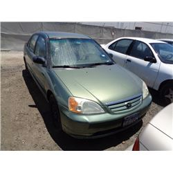 HONDA CIVIC 2003 O/S T-DONATION