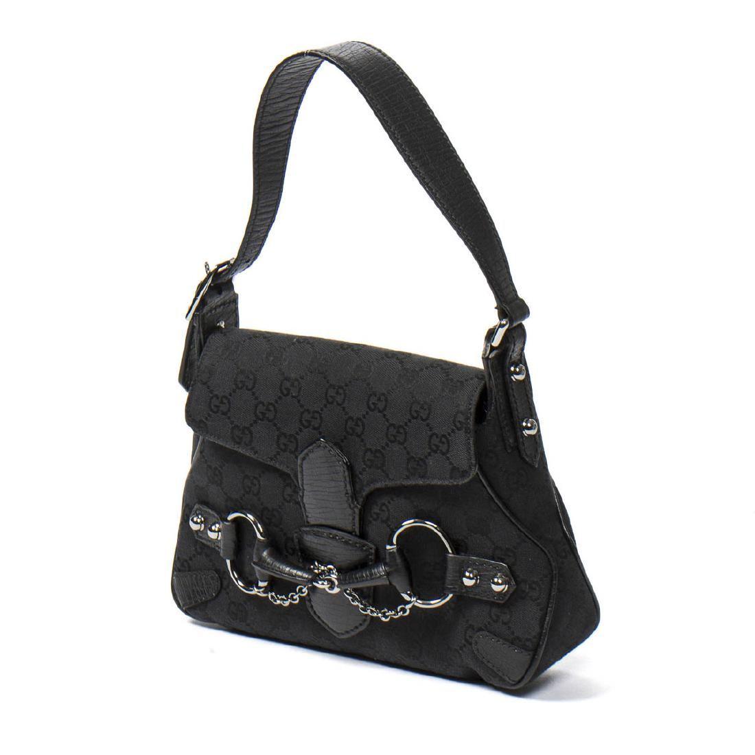 713b81b59 GUCCI Horsebit Satchel Bag