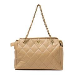 CHANEL Zip Shopping Bag