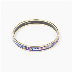 HERMES Enamel Bangle PM
