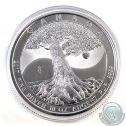 2017 Canada 10oz Tree of Life 9999 Fine Silver Coin (TAX Exempt)