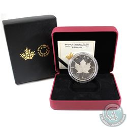 2017 Canada $10 150 Iconic Maple Leaf 2oz. Fine Silver Coin (Tax Exempt)