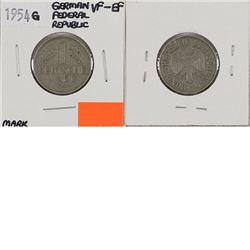 1954G German Federal Republic Mark VF-EF