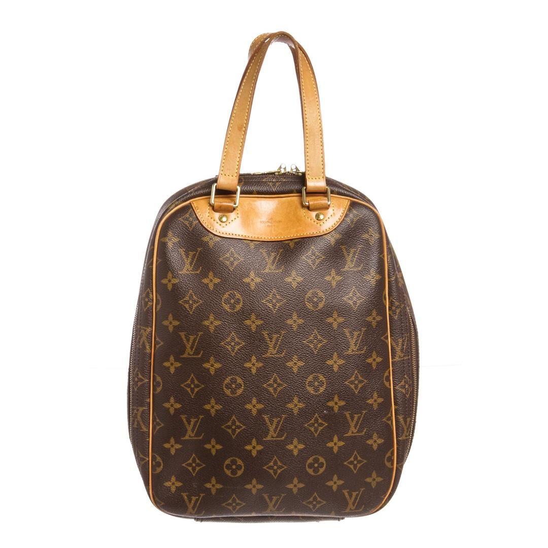 bcc493fc Image 1 : Louis Vuitton Monogram Canvas Leather Excursion Bag ...