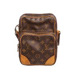 Louis Vuitton Monogram Canvas Leather Amazone Crossbody Bag