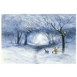Winter Walk by Ellenshaw (1913-2007)
