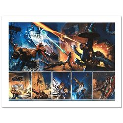 Secret War #4 by Stan Lee - Marvel Comics
