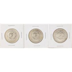 Set of (3) 1954 Washington-Carver Centennial Commemorative Half Dollar Coins