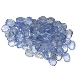 10.43 ctw Oval Mixed Tanzanite Parcel
