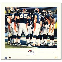 The Huddle VIII (Broncos) by Smith, Daniel M.