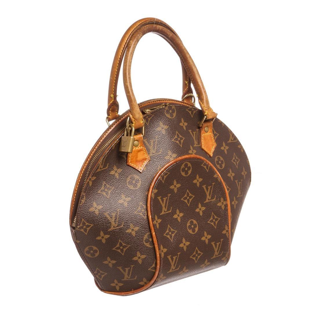 0a34be2ec39 Louis Vuitton Monogram Canvas Leather Ellipse PM Bag