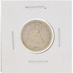 1875-S Liberty Seated Twenty Cent Piece Coin